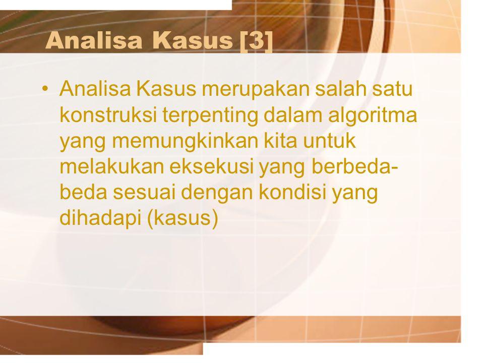 Analisa Kasus [3]